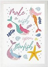 East End Prints Mermaids Wish A3 Framed Print