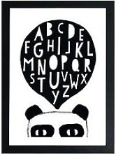 East End Prints Pandalphabet By Seventy Tree A3