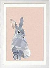 East End Prints Rabbit By Studio Cockatoo A3