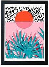 East End Prints Whoa By Wacka A3 Framed Wall Art