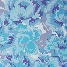 East West Papers - Blue Floral Wallpaper Flowers