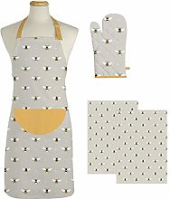 east2eden Countryside Kitchen Bee Adult Apron