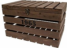 east2eden Vintage Retro Brown Reclaimed Wooden