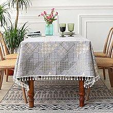 Eastbride Cotton Cloth Tablecloth,Home restaurant