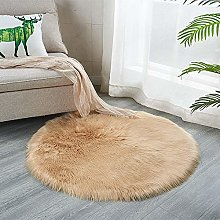 Eastbride Fluffy lambskin carpet,Cute Furry