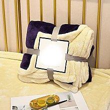 Eastbride Soft and Warm Blanket,Solid color