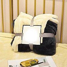 Eastbride Soft Fluffy Thick Blanket,Solid color