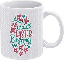 Easter Blessings Mug Easter Egg Coffee Mug Easter