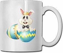 Easter Bunny Egg Coffee Mug 11 Oz Mens Birthday