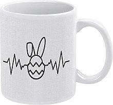 Easter Bunny Egg E-k-g Mug Easter Bunny Coffee Mug