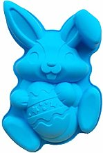 Easter Bunny Egg Mold Rabbit Large Silicone