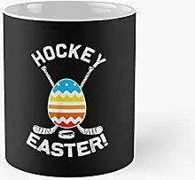Easter Bunny Hockey Eggs Hunting Rabbit Egg