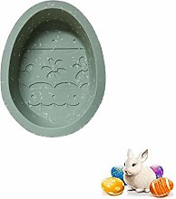 Easter Bunny Rabbit Egg Mold Large Size Silicone
