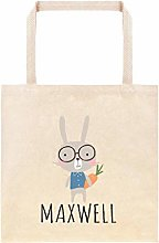 Easter Bunny with Glasses Personalized Egg Hunt