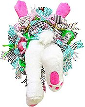 Easter Bunny Wreath Decorations, Personalized