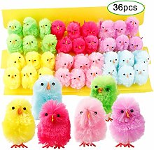 Easter Chicks, Cute Vibrant Colors Easter Chenille