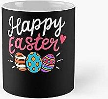 Easter Day Egg Hunting Classic Mug   Best Gift
