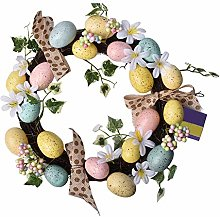 Easter Decorations Craft Hanging Wreath, Easter
