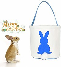 Easter Egg Bags Hunt Bunny Basket for Kids Bunny