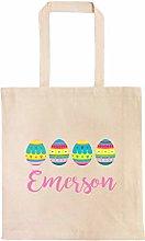 Easter Egg Basket Personalized Egg Hunt Bag Custom