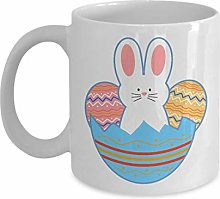 Easter Egg Bunny Gifts Mugs Set Coffee & Tea Gift