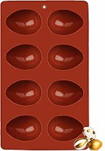 Easter Egg Chocolate Mould 1Pcs, Ytbozjw 8-Cavity