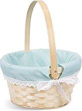 Easter Egg Hunt Wicker Basket Kid Child Party
