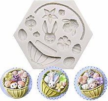 Easter Egg Moulds - Easter Bunny Rabbit Party