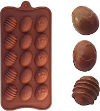Easter Egg Shape Silicone Chocolate Mold Baking