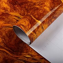 Easy application Removable Wallpaper Thick marble