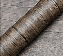 Easy application Removable Wallpaper Wood Pattern