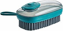Easy Dish Brush with Soap,Clean Bathroom Kitchen