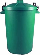 Easy Shopping 2 x GREEN 85 Litre 85L Extra Large