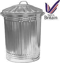 Easy Shopping 90L 90 Litre Large Galvanised Metal