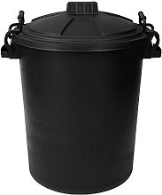 Easy Shopping BLACK 50 Litre 50L Extra Large Heavy