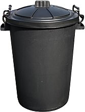 Easy Shopping BLACK 85 Litre 85L Extra Large Heavy