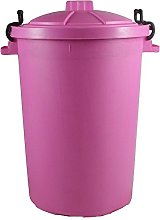 Easy Shopping PINK 85 Litre 85L Extra Large Colour