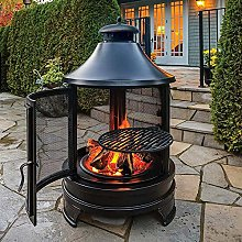 Easy to Clean Rustic fire Pit Barbecue Outdoor