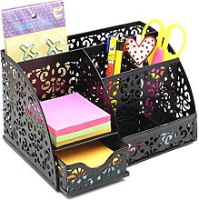 EasyPAG Mesh Desk Organizer Pattern Decoration 6