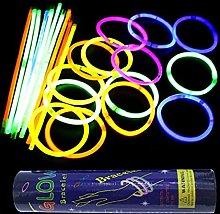 EATAN 100Pcs Fluorescence Light Glow In Dark