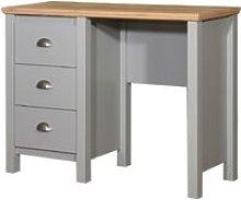 Eaton Single Pedestal Dressing Table 3 Drawer