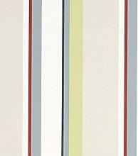 Eaton Stripe Natural Multi Wallpaper Stripes Duck