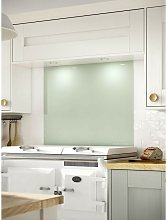 Eau De Nil Glass Kitchen Splashback 600mm x 750mm