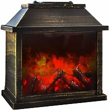 Eaxus® LED Fireplace Decorative Electric