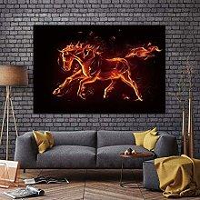EBONP Decorative paintings animal canvas print