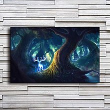 EBONP Wall decorative canvas painting Canvas Print