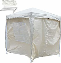 EBTOOLS 4 sidewalls + 2 full size window Awning