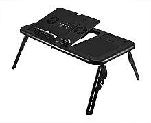 EBTOOLS Bed Table,Adjustable Laptop Table Foldable