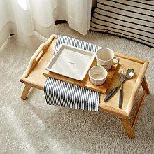EBTOOLS Breakfast Tray,Bamboo Folding Tea Serving