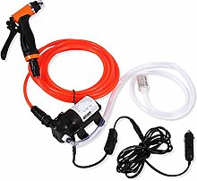 EBTOOLS Car Wash Pump,130PSI 80W 12V Portable Car